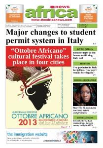 MariTè - Africa News October 2013