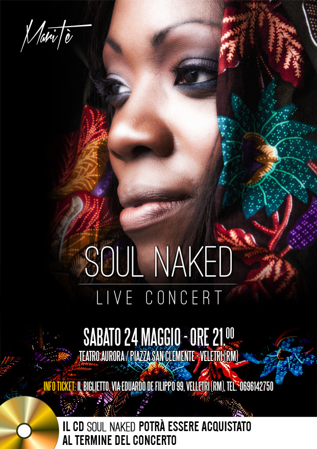 MariTè - Soul Naked Live